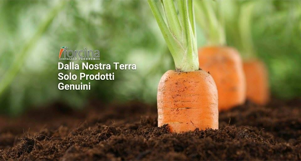Le carote a mazzi